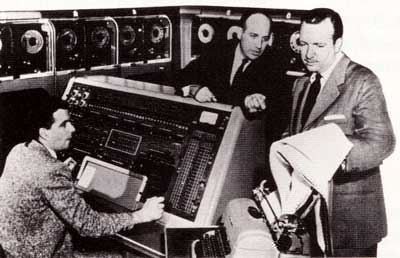 UNIVAC in operation.